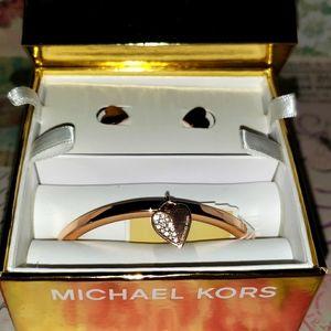 New MICHAEL KORS bracelet earring set